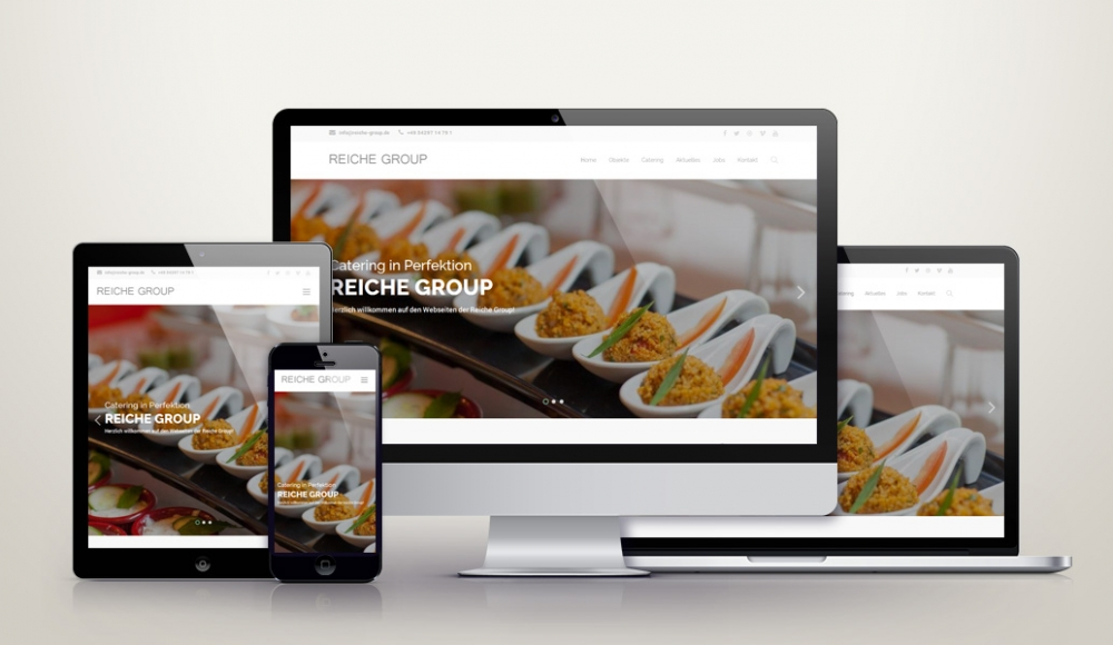 Responsive Wordpress Relaunch für reiche-group.de